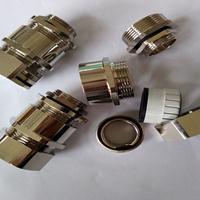 西安供应金属软管夹紧电缆接头 双锁紧金属格兰头