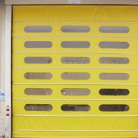 北京旭日环照生产不锈钢自动堆积门提供安装