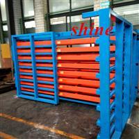 板材存储方式 卧式板材货架 重型抽屉式货架