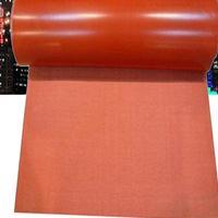 河北防火硅胶布厂家  电焊防火布一平米价格
