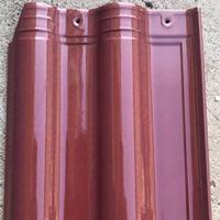 西式瓦厂家 全瓷欧式连锁瓦 不缺角瓦 产量大销往全国