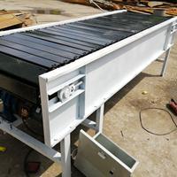 倾斜链板输送机使用注意事项木箱链板输送机展示Ljy8