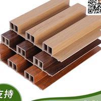 上饶厂家热销 护墙板室内木塑 pvc吊顶装饰材料 生态木长城板