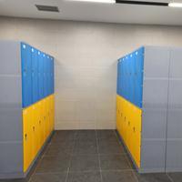 广东塑料更衣柜 塑料柜 浴室更衣柜  教室书包柜图片价格
