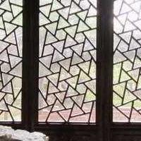 大堂冰裂纹铝窗花-冰裂纹铝花格长期供应-多款精选