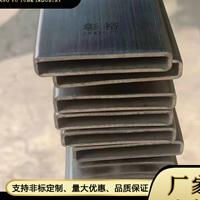 316316不锈钢扁通10*50*1.5工业焊管厂家