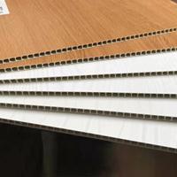 株洲厂家直销室内免漆护墙板全屋制定快装板 400竹木纤维集成墙板