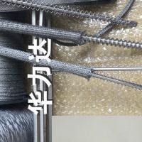 耐高温金属套管,钢化齿条耐高温纤维编织套管,高温金属带
