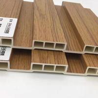 生态木彩色长城板价格 生态木包覆长城板效果图