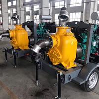 8寸SP-8型四輪拖車自吸排污泵