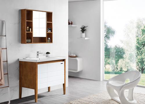 实木材质的浴室柜怎么样?
