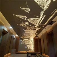 会所大厅墙身艺术孔铝单板厂家解答安装技巧