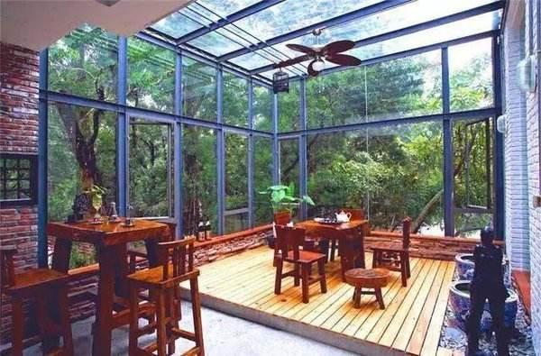 玻璃陽光房如何隔熱?