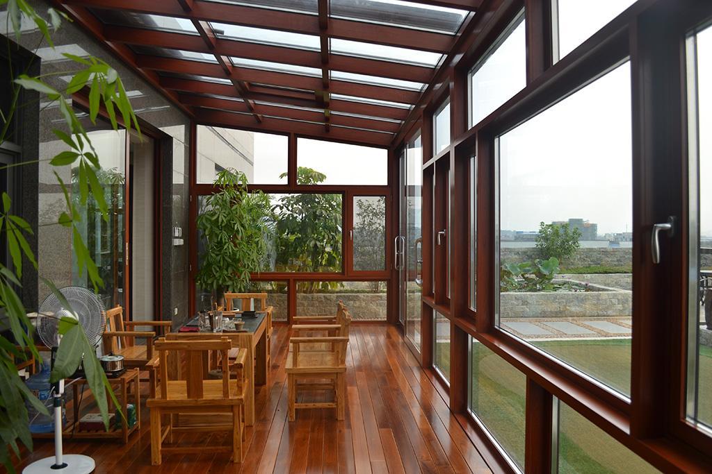 陽光房頂部材質如何選擇?
