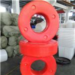 厂家塑料水上用浮圈 圆圈形塑料浮圈