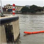 柏泰电厂拦污网浮筒 水库水口拦污排 撞击塑料浮筒