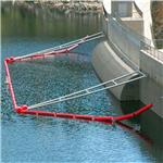 厂家供应水电站流量定做拦污浮漂 拦污排加工新型工程塑料浮筒