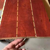 呼伦贝尔厂家直销竹木纤维影院会议图书馆室210吸音板