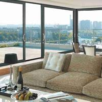 京美65非断桥窗纱一体型材 广东断桥铝合金家装型材