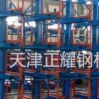 陕西钢材货架 钢管存放架 圆钢架子 轴类货架