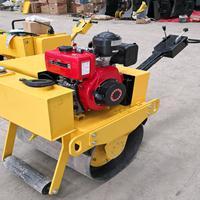 手扶式压路机 单轮路面压实器 座驾式双轮振动碾