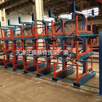 广东悬臂式货架厂家免费设计行车存放管材的悬臂货架