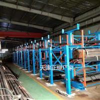 四川管材存放架案例现场管材货架堆放图片厂家