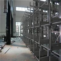 杭州移动式管材存放架 长货物钢材型材存放货架