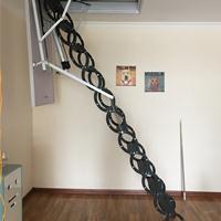 全自动阁楼伸缩楼梯艾尚更专业,设计安装更省心