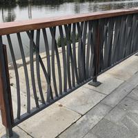 泰安河道景观护栏生产厂家 防锈花草景观栏杆图片样式公司报价