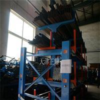 福建伸缩移动式管材货架6米钢管存放架型材钢材多层存放架