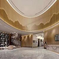 商城弧形铝方通    室内吊顶弧形铝方通品牌
