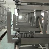 云南双面存放6米管材货架手动机构管材存放架