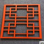学校铝花格焊接仿木铝花格厂家