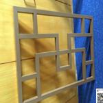 古建筑中空玻璃外墙窗户铝窗花-铝花格厂家定制