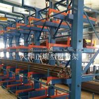 北京钢材货架伸缩悬臂式结构行车存放管材 型材 型钢 槽钢角钢