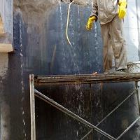 山西大同污水池细微裂缝注浆处理的方法