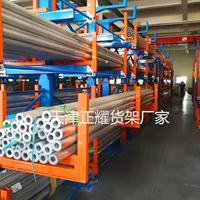 江西管材存放架吊车机械化操作管材型材钢材钢棒圆钢长料原材料