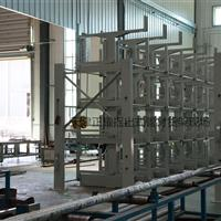 哈尔滨伸缩悬臂货架吊车存放管材 棒料 轴杆型材 钢材 圆钢 槽钢