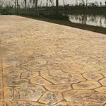 滁州压模地坪施工流程步骤滁州压模艺术地坪不易磨坏褪色