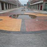 徐州压模模具厂家介绍养护流程徐州压模地坪模板不易腐蚀损坏