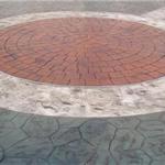 淮南混凝土压模地面材料施工价格淮南压模道路路面地坪制作环保