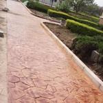 无锡压模地坪材料撒播工序无锡压模地坪保护剂撒播步骤