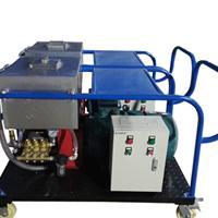 厂家直销广西南宁马路标示线专项使用工业高压清洗机 高压冲毛机