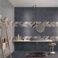 水泥砖600仿古砖灰色瓷砖复古地砖loft工业风客厅防滑地砖厨房
