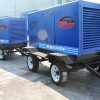 400A柴油发电电焊车,四轮移动拖车柴油发电机