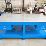 钢板模具桌修模台 铁板审模台 铸铁省模台 45#钢板拆装台