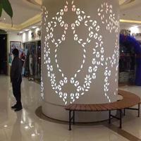 冲孔 雕花 镂空铝单板 广东生产厂家
