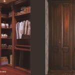 国际朗诺整体家居纯生态绿色环保系列背景墙/酒柜/衣柜/木门E0