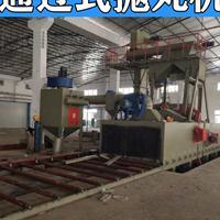 广东大型喷砂机设备制造商铝材模板处理通过式抛丸机